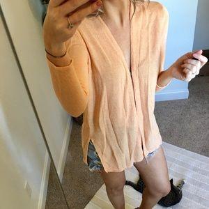 Perfect creamsicle sweater!
